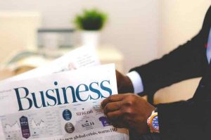 accountant-reading-business-news